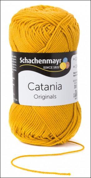 Catania pamut fonal 5dkg  színkód: 0249 Gold