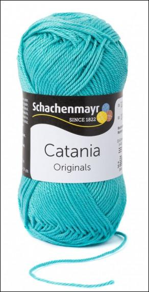 Catania pamut fonal 5dkg  színkód: 0253 Jade kék