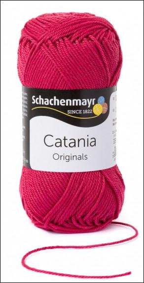 Catania pamut fonal 5dkg  színkód: 0258 Erdbeere