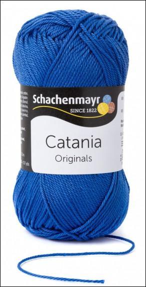 Catania pamut fonal 5dkg  színkód: 0261 Regatta kék