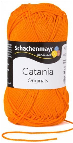 Catania pamut fonal 5dkg  színkód: 0281 Orange