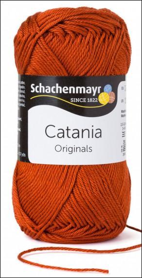 Catania pamut fonal 5dkg  színkód: 0388 Terracotta