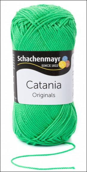 Catania pamut fonal 5dkg  színkód: 0389 Maigruen