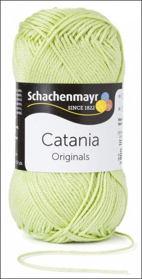 Catania pamut fonal 5dkg  színkód: 0392 Gelbgruen