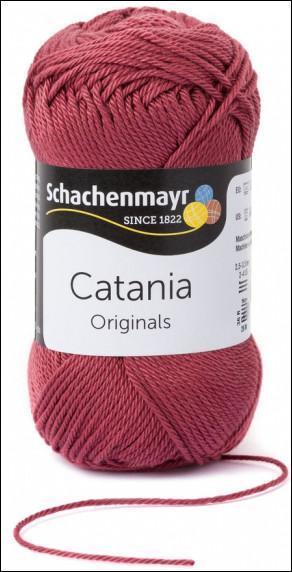 Catania pamut fonal 5dkg  színkód: 0396 Marsalarot