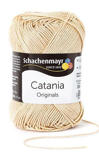 Catania pamut fonal 5dkg  színkód: 0404 homok