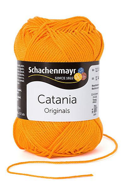 Catania pamut fonal 5dkg  színkód: 0411 Mango