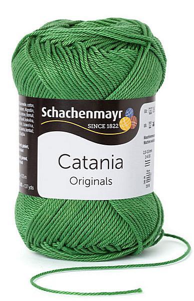 Catania pamut fonal 5dkg  színkód: 0412 Mohazöld