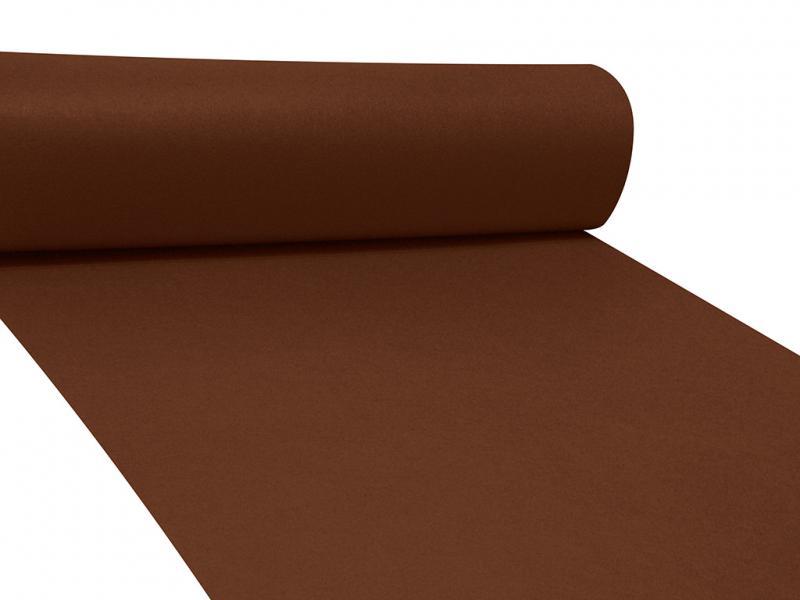 Dekor filc 83cm széles barna