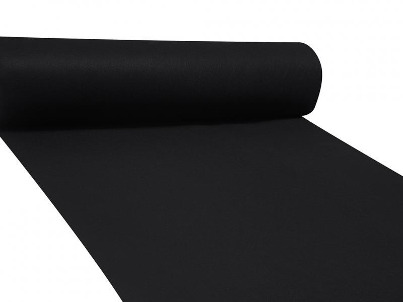 Dekor filc 83cm széles fekete