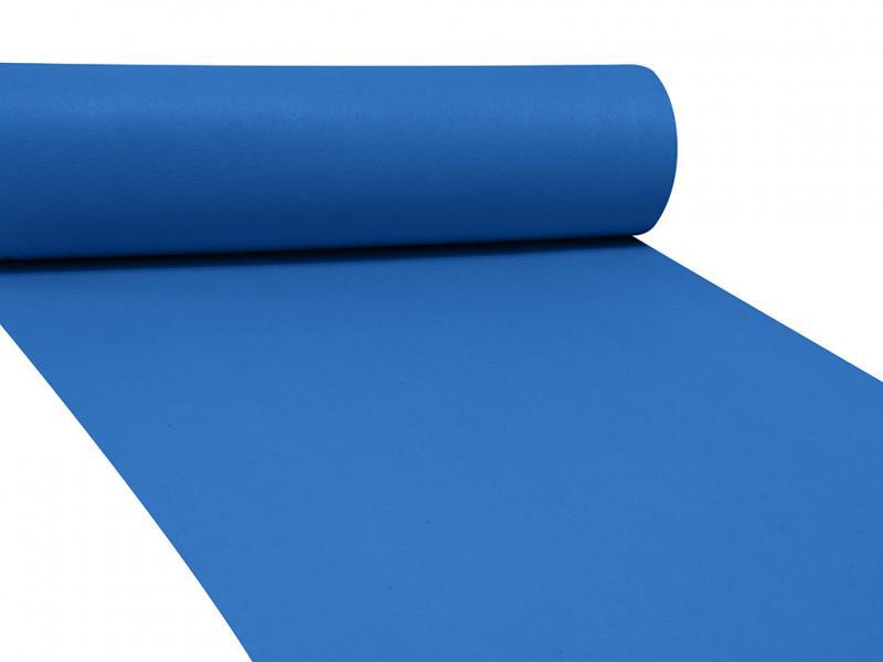 Dekor filc 83cm széles kék