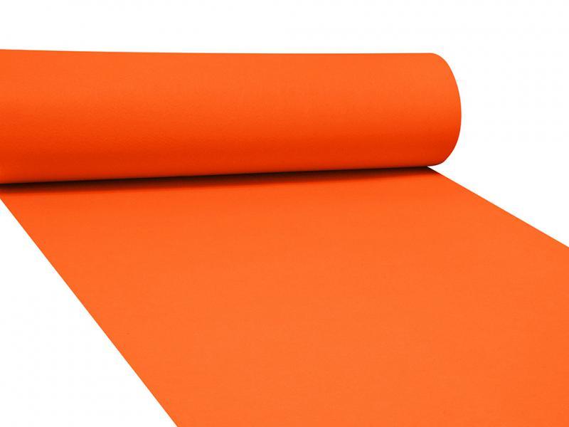 Dekor filc 83cm széles narancssárga