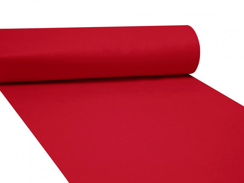 Dekor filc 83cm széles piros