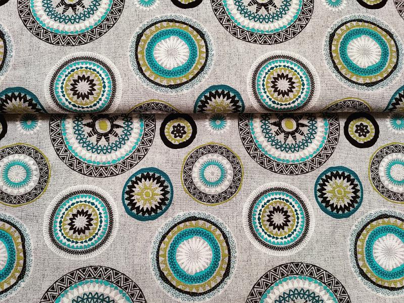 Lakástextil  drapp mintanélküli 140 cm széles