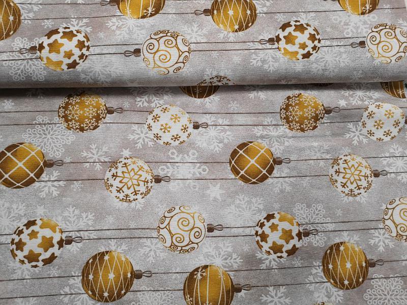 Lakástextil karácsonyi kék masnikkal 140 cm széles