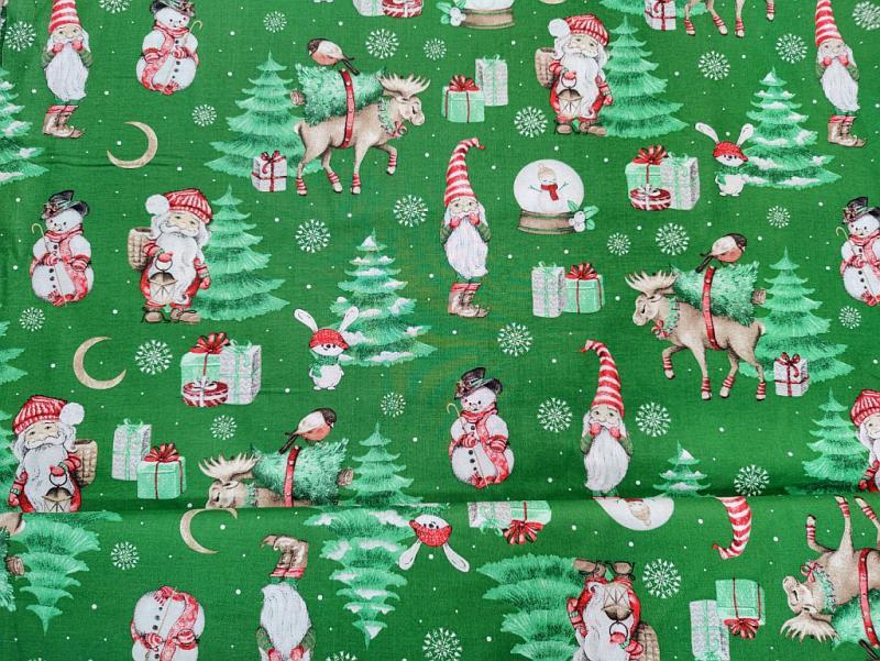 Lakástextil karácsonyi winter 140 cm széles