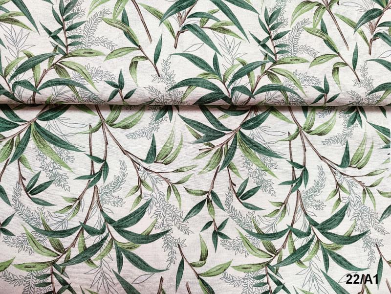 Lakástextil színes csíkok 140 cm széles