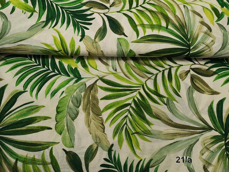 Lakástextil szívminták drapp alapon 140 cm széles