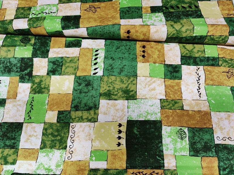 Lakástextil vászon kék 140 cm széles