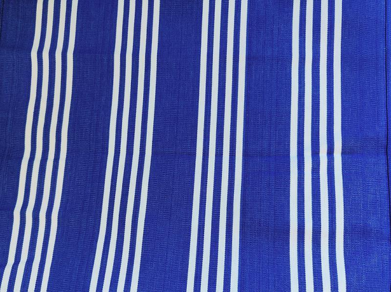Nyugágyvászon barna-drapp csíkos 45 cm széles