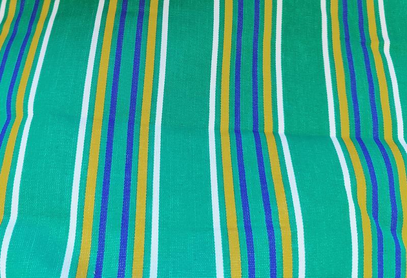 Nyugágyvászon kék csíkos 140 cm széles