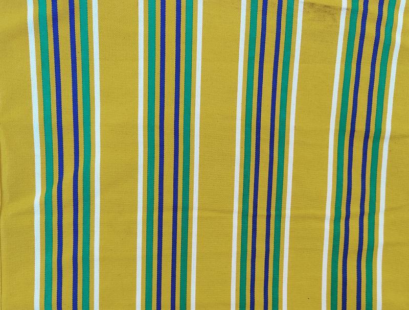 Nyugágyvászon szürke-bordó csíkos 45 cm széles