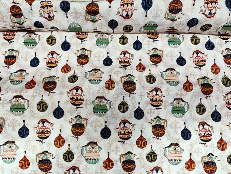 Pamut vászon kék-fehér kockás 140 cm széles