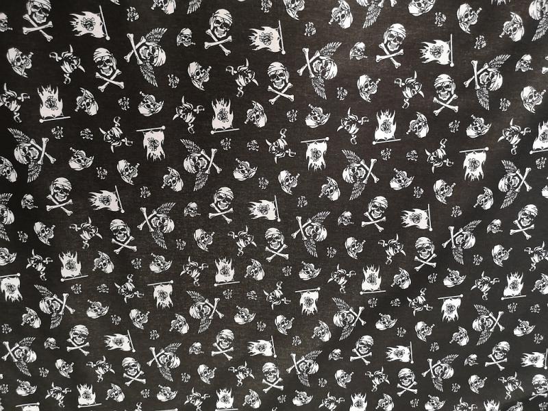 Pamutvászon néprajzi patchwork mintás 140 cm széles