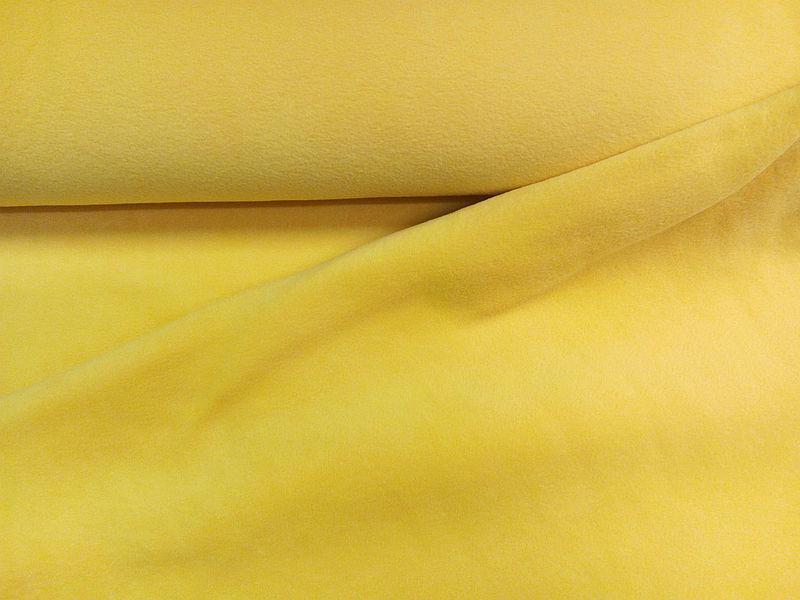 Polár thermo (321 sárga) 240gr-os 150 cm széles