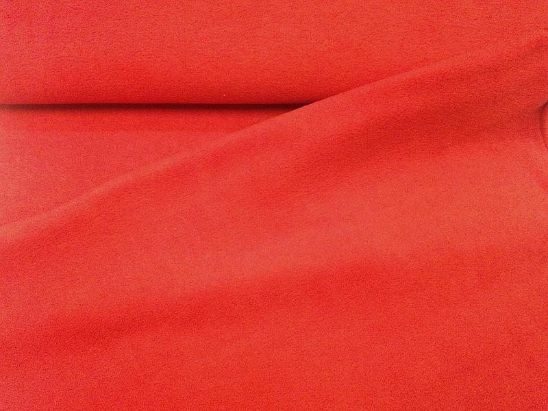 Polár thermo (655 piros) 240gr-os 150 cm széles
