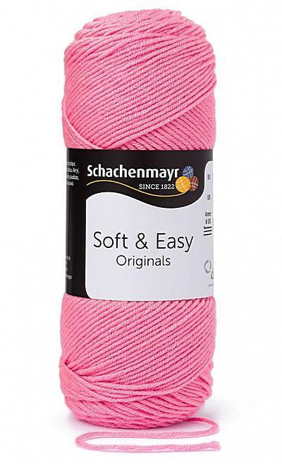 Soft & Easy 10dkg fonal színkód: 0035 pink