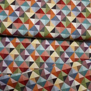 Canva vászon színes háromszögek 140 cm széles