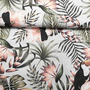 Lakástextil  drapp mintás 140 cm széles
