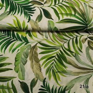 Lakástextil pálmalevelek 21/a 140 cm széles