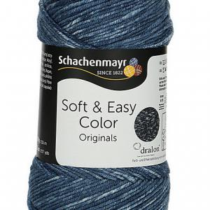 Soft & Easy Color 10dkg fonal színkód: 0081 Indigo