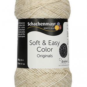 Soft & Easy Color 10dkg fonal színkód: 0083 Beige