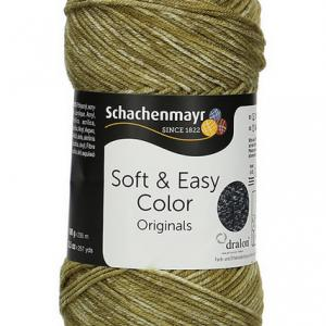 Soft & Easy Color 10dkg fonal színkód: 0084 Khaki