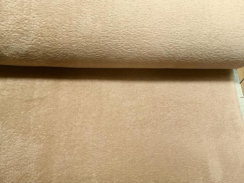 Well Soft egyszínű 150 cm széles drapp