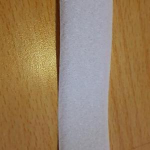 Fehér Bolyhos Velcro tépőzár 3cm