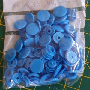 Kam patent 25 szett/csomag B8 Élénk kék