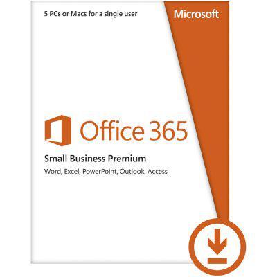 Microsoft® Office 365 Small Bus Prem 32/64 Alng Subscr PkLic 1YR Online DwnLd C2R NR