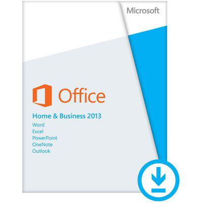 Microsoft® Office Home and Business 2013 32/64 Hungarian PkLic Online Eurozone DwnLd C2R NR