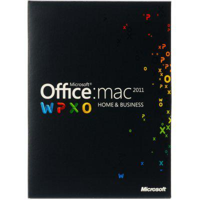 Microsoft® Office Mac Home Business 1 PK 2011 English Online Product Key License 1 License