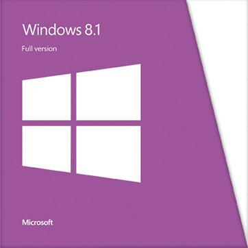 Microsoft® Win LE 8.1 32-bit/64-bit All Languages Online Product Key License 1 License Downloadable