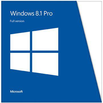 Microsoft® Win Pro LE 8.1 32-bit/64-bit All Languages Online Product Key License 1 License