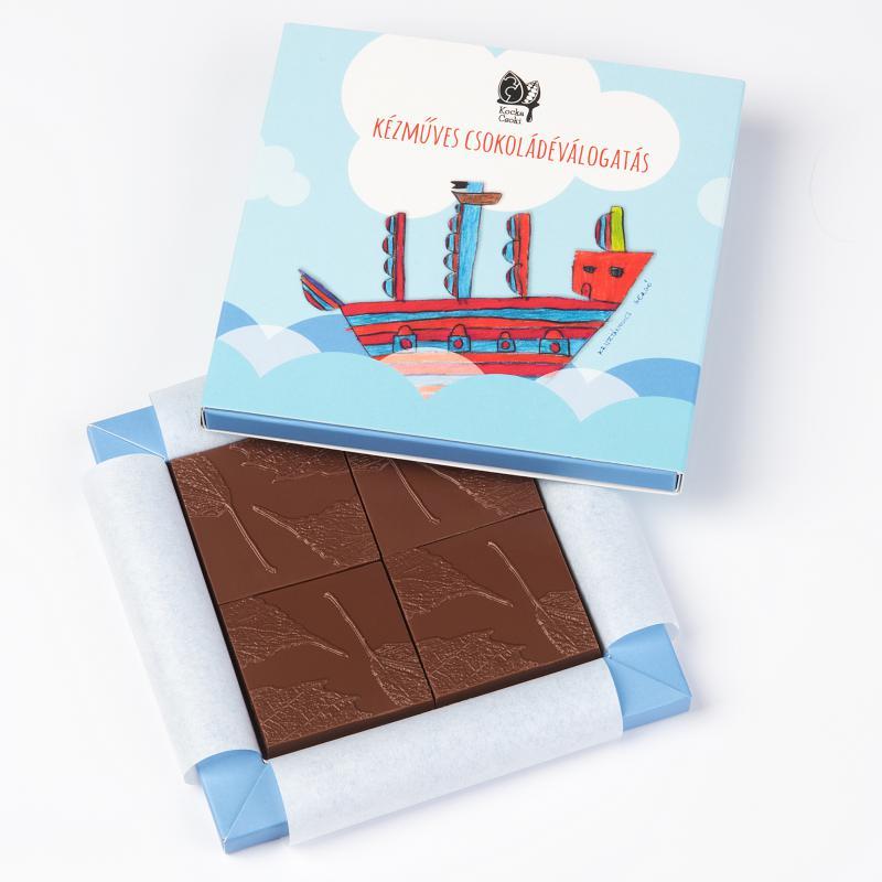 4 db-os kézműves csokoládé
