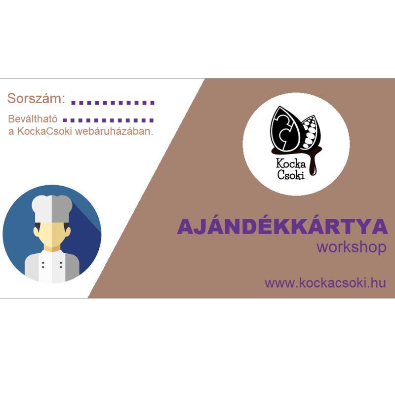 Ajándékkártya - workshop
