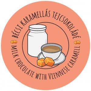 Bécsi karamelles tejcsokoládé