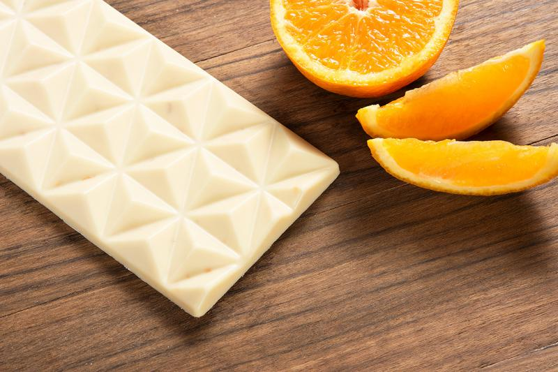 fehér csokoládé naranccsal