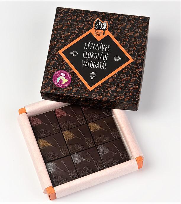 Termőhely szelektált csokoládé válogatás